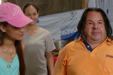 Big Ed and Rose on 90 Day Fiance