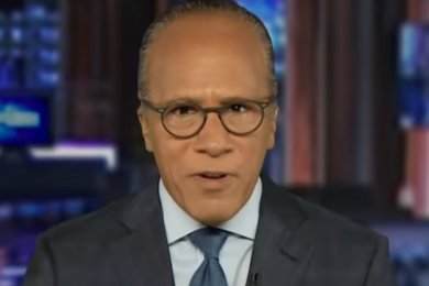 Lester Holt on NBC Nightly News