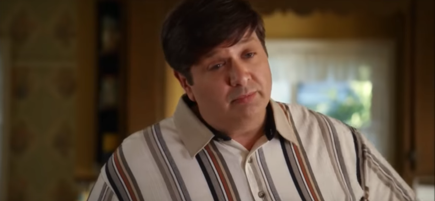 Lance Barber as George Cooper Sr in Young Sheldon