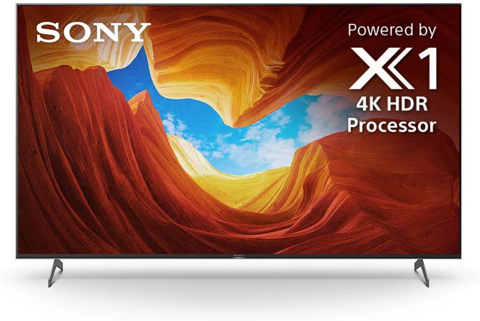 Sony X900H 55 Inch TV 4K Ultra HD Smart LED TV with HDR, Game Mode for Gaming, and Alexa Compatibility - 2020 Model