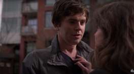 Freddie Highmore and Paige Spara in The Good Doctor (2020)
