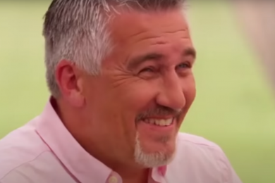 Paul Hollywood on The Great British Baking Show
