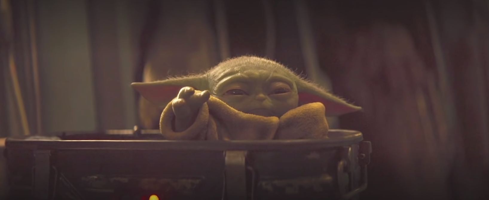 Baby Yoda in The Mandalorian Chapter 10
