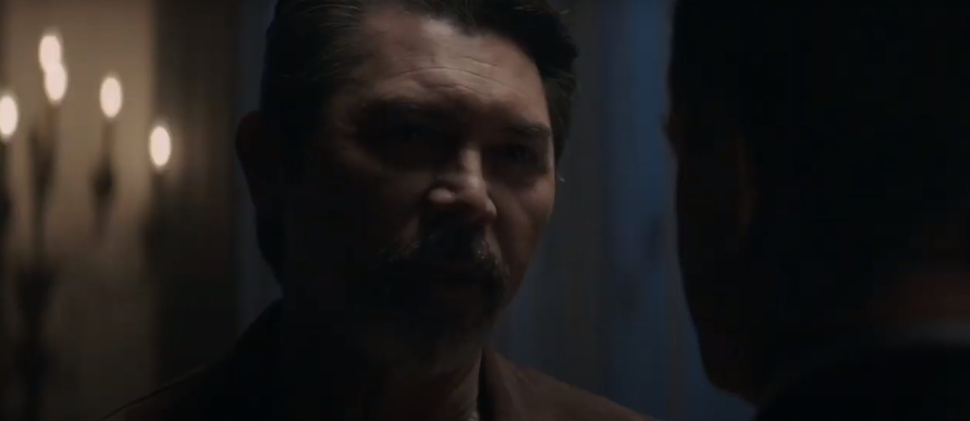 Gil Arroyo, played by Lou Diamond Phillips, in Prodigal Son