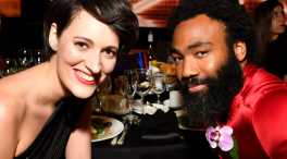 Phoebe Waller-Bridge and Donald Glover